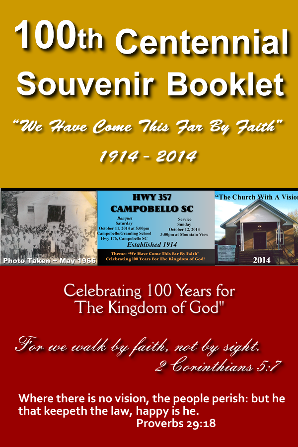 church anniversary program booklet