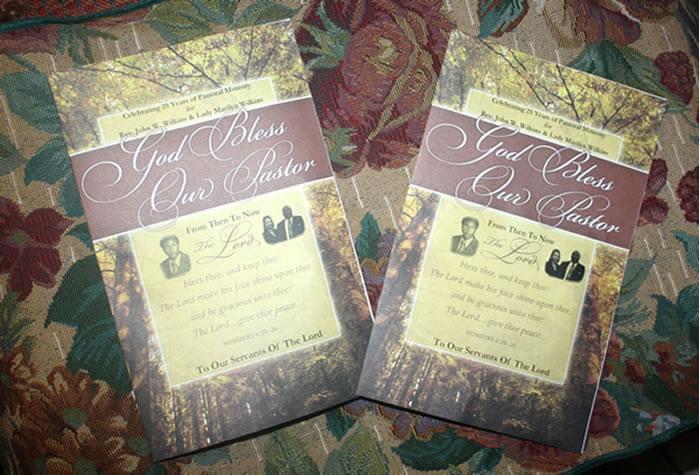 Pastors 25th Anniversary